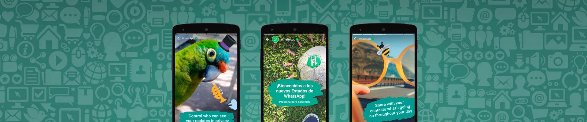 Se Confirmó El Rumor: Llega WhatsApp Status